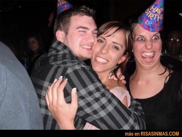 Fotobomba en la fiesta