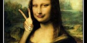Mona Lisa y su perfil de Facebook