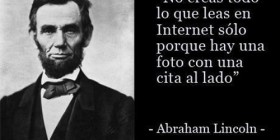 No creas todo en Internet
