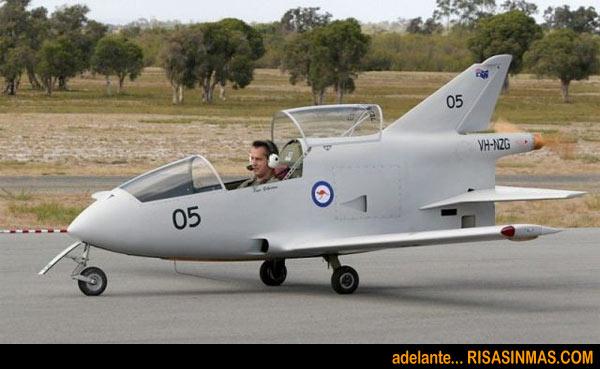 El nuevo avión de combate