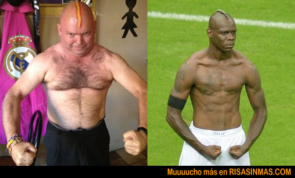 Parecidos razonables: Balotelli