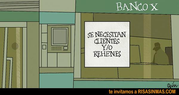 Rehenes de bancos
