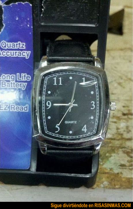 Reloj made in China
