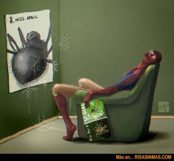 Spiderman en la intimidad
