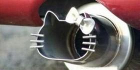Tubo de escape Hello Kitty