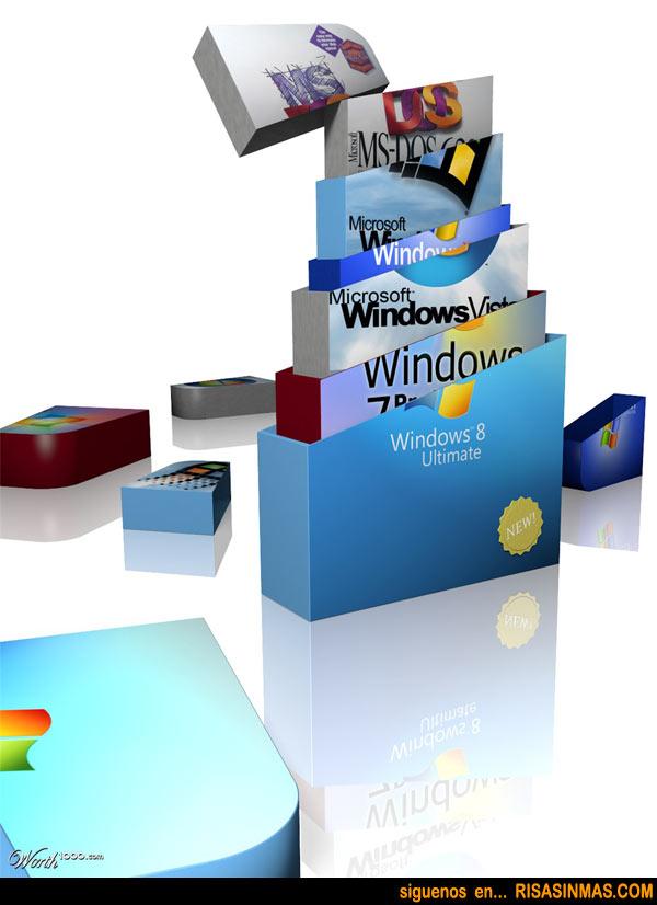 Qué esconde Windows 8