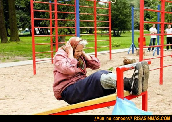 Abuela deportista