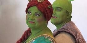 Boda humana de Fiona y Shrek