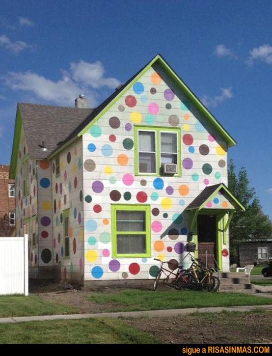 Píntame la casa con colores alegres