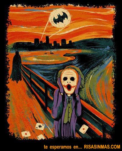 El grito de Batman