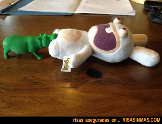El mordisco del hipopótamo