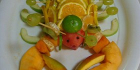 Langosta frutal