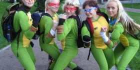 Las auténticas tortugas ninja