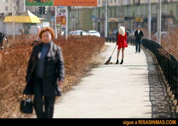 Servicio de limpieza pública de Rusia