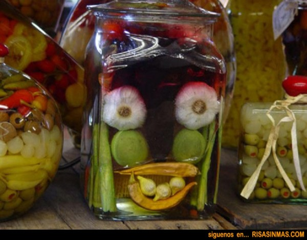 Sonrisa vegetal