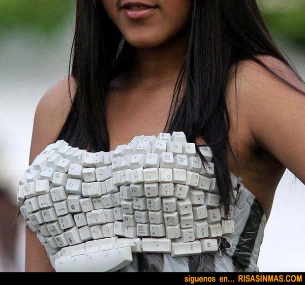 Vestido teclado