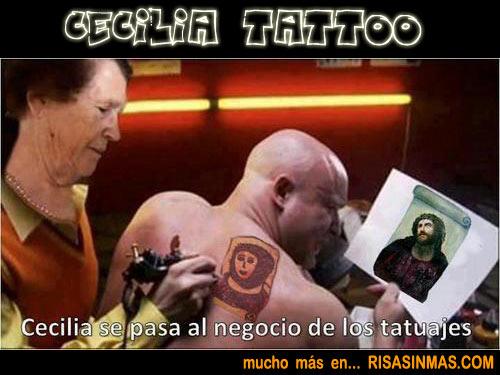 Cecilia Tattoo