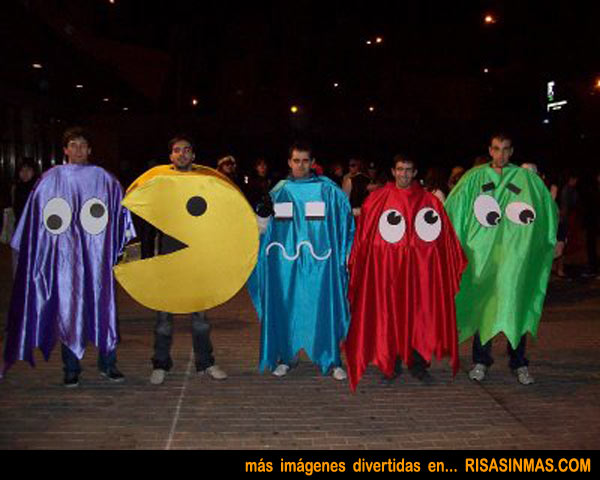 Disfraces originales: Pac-Man