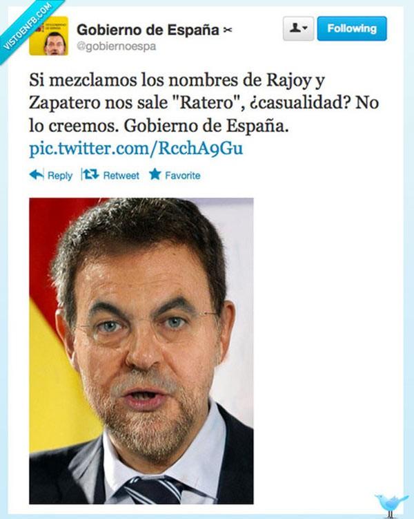 Rajoy + Zapatero
