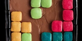 Tetris comestible