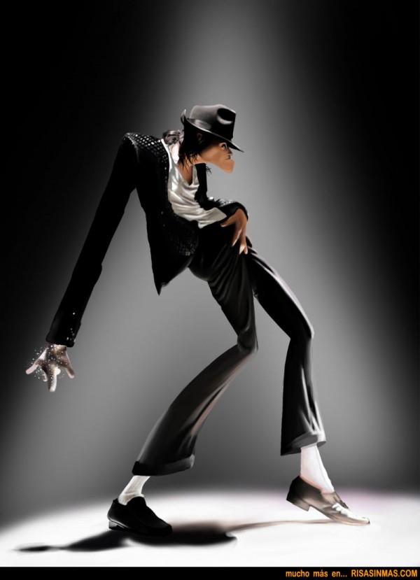 Caricatura Michael Jackson