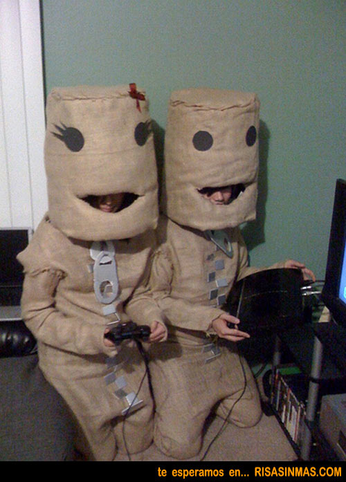 Disfraces originales: Sackboy