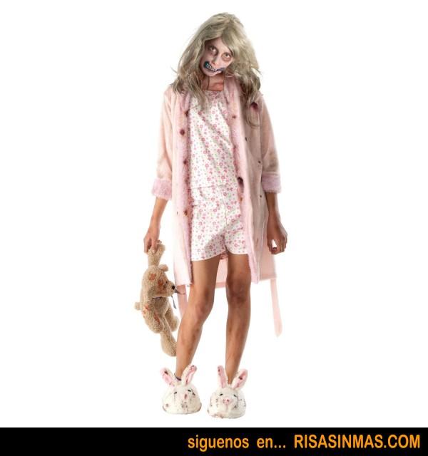 Disfraz niña zombie de The Walking Dead
