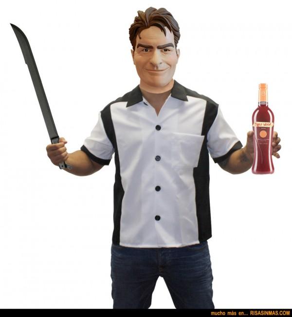 Disfraz Halloween Charlie Sheen