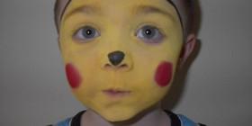 Disfraz-maquillaje de Pikachu
