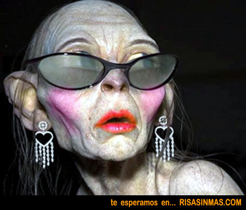 La mujer de Gollum