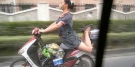 Montar en moto con estilo