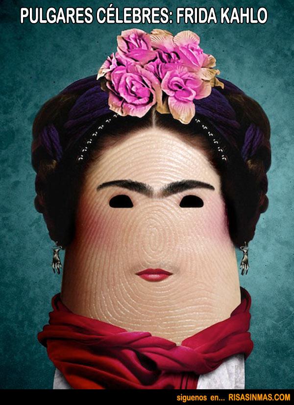 Pulgares célebres: Frida Kahlo