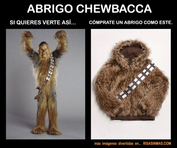 Abrigo Chewbacca