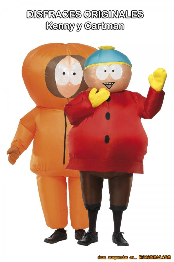 Disfraces originales: Kenny y Cartman