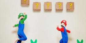 Juego Mario Bros en versión humana