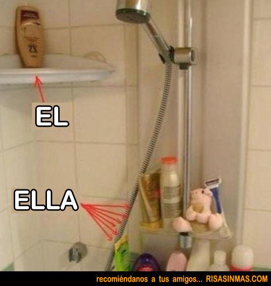 La ducha de