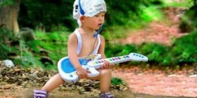 Bebé rockero