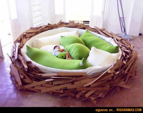 Cama nido...