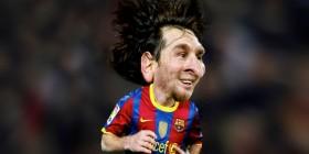 Caricatura de Lionel Messi
