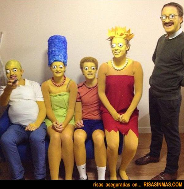 Disfrazados de Los Simpson