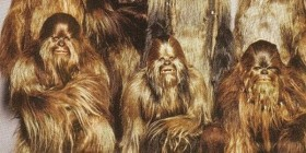 Foto familiar de Chewbacca