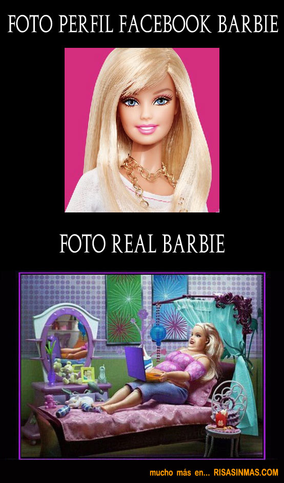 Foto del perfil de Facebook de Barbie...