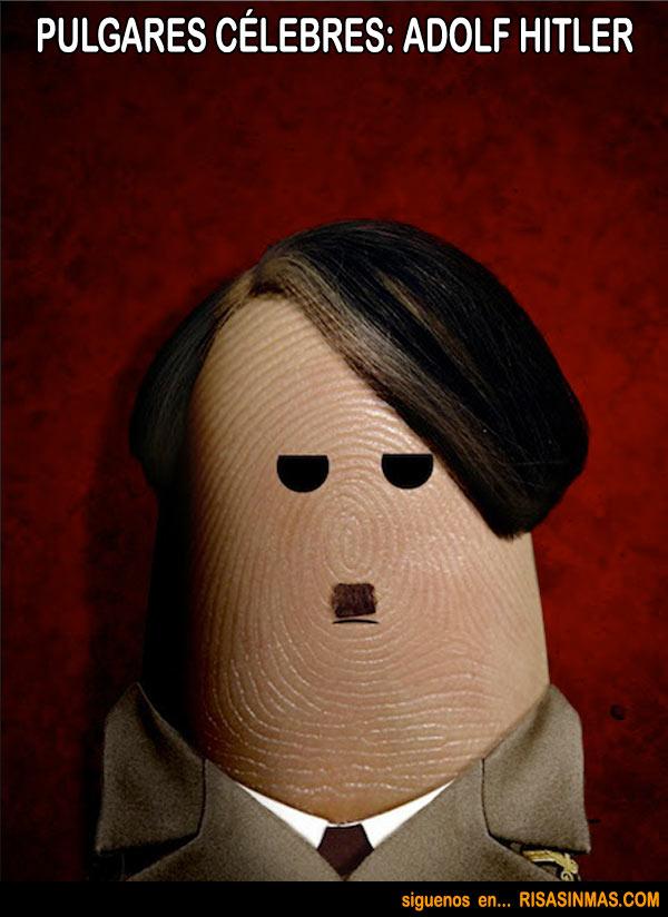 Pulgares célebres: Adolf Hitler