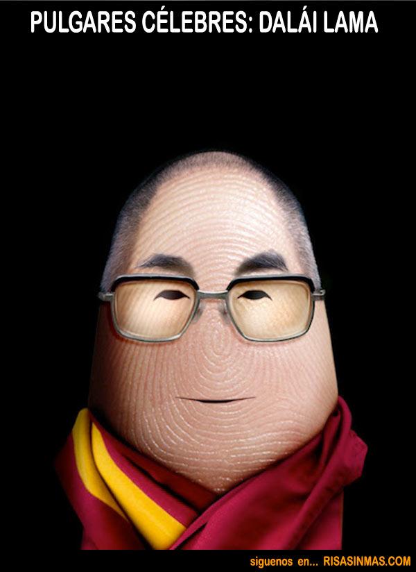 Pulgares célebres: Dalái Lama