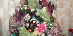 Árbol de Navidad Angry Birds