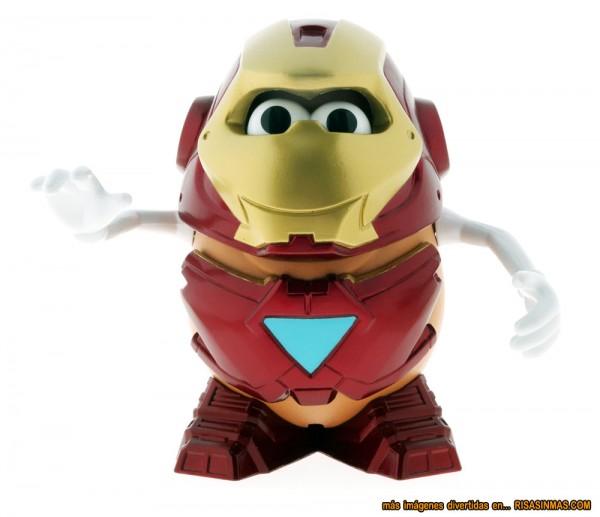 Mr. Potato Iron Man