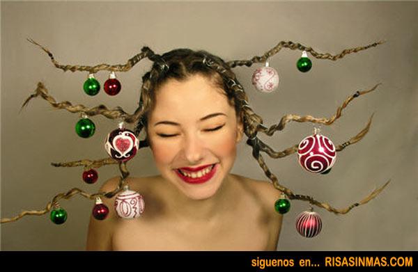 Peinados navideños