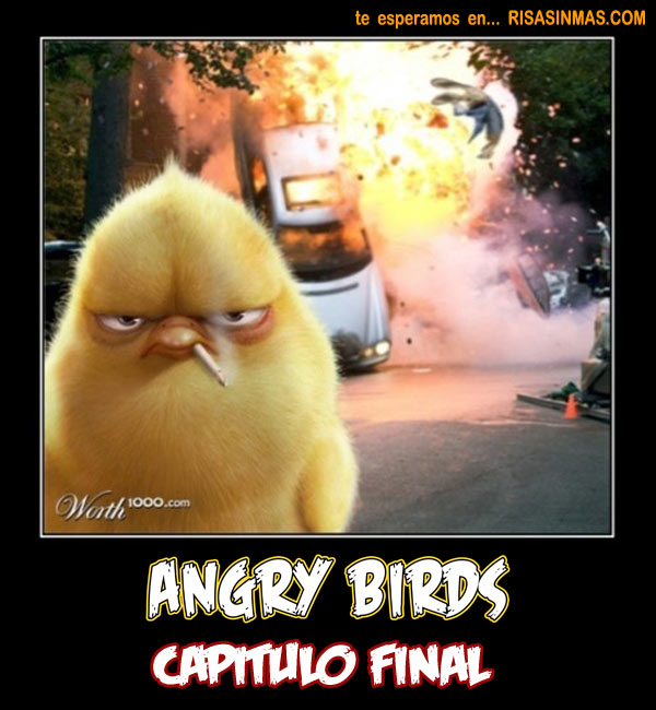 Angry Birds Capitulo Final