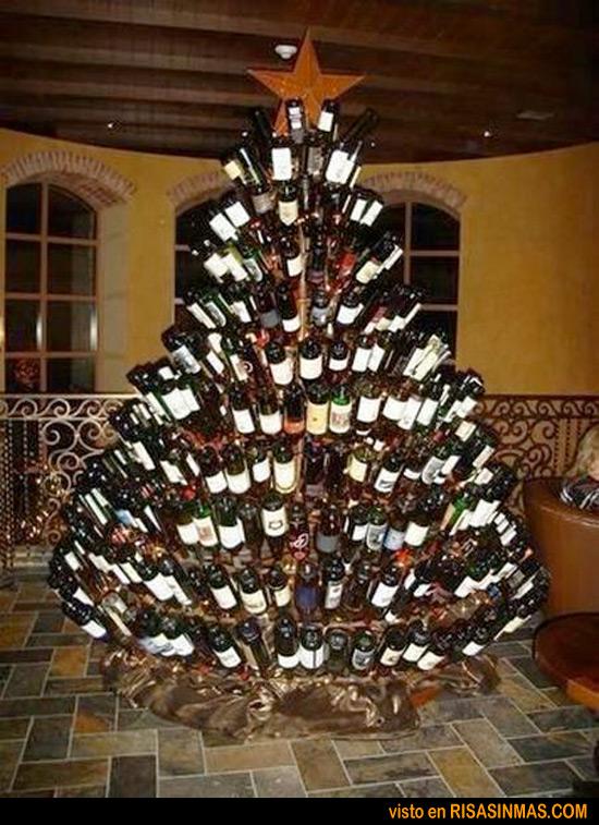 rboles de navidad originales botellas - Arboles De Navidad Originales