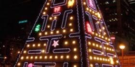 Árboles de navidad originales: Pac-Man